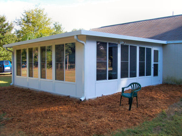 Sunroom plans free plans diy free download plywood for Home plans with sunrooms